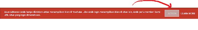 Upgrade Akun Adsense Hosted ke Non Hosted