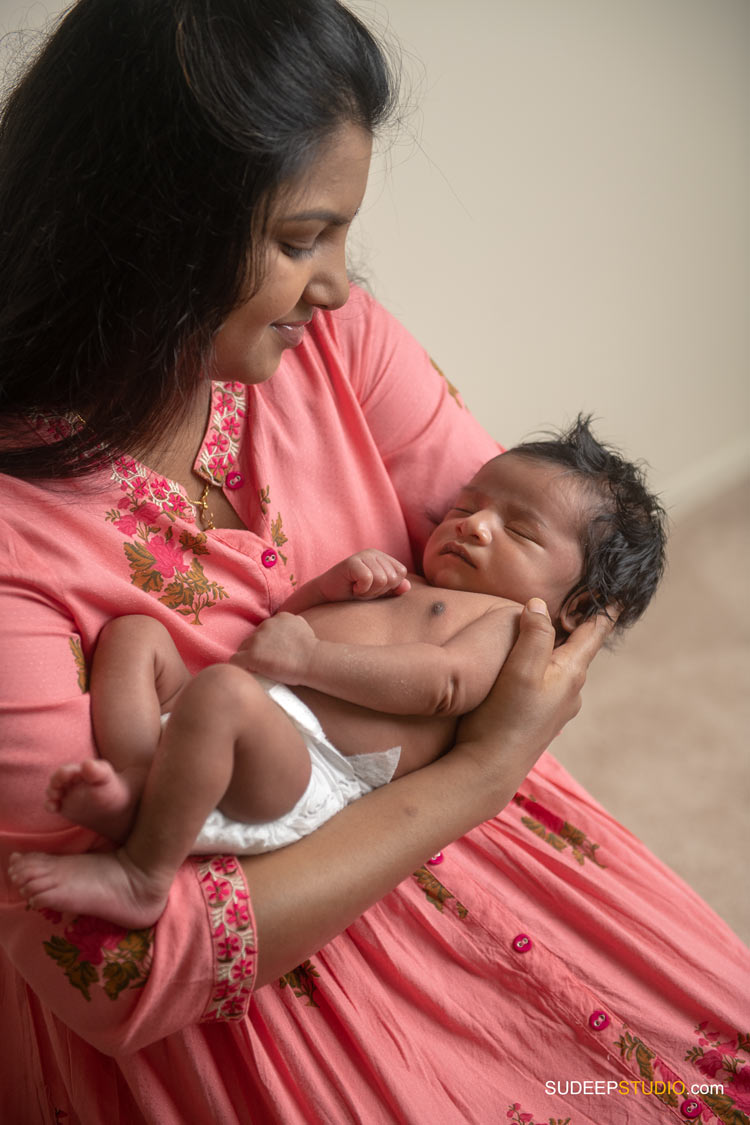 Indian New Born Baby Maternity Pictures in Novi by SudeepStudio.com Ann Arbor Newborn Portrait Photographer