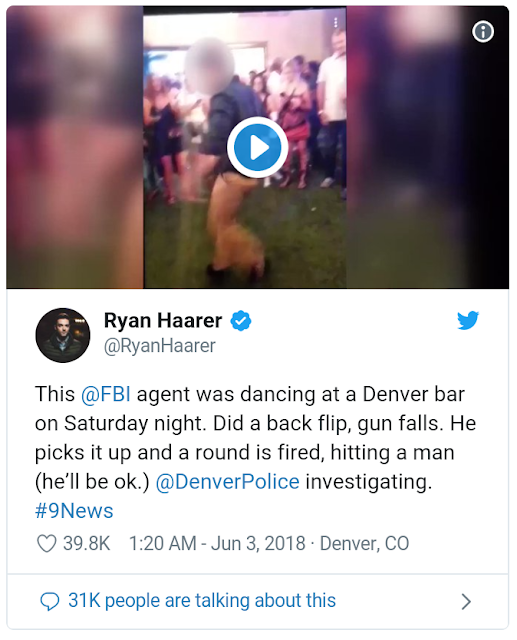 The FBI Agent Who Accidentally Shot A Man While Dancing Won't Go To Jail