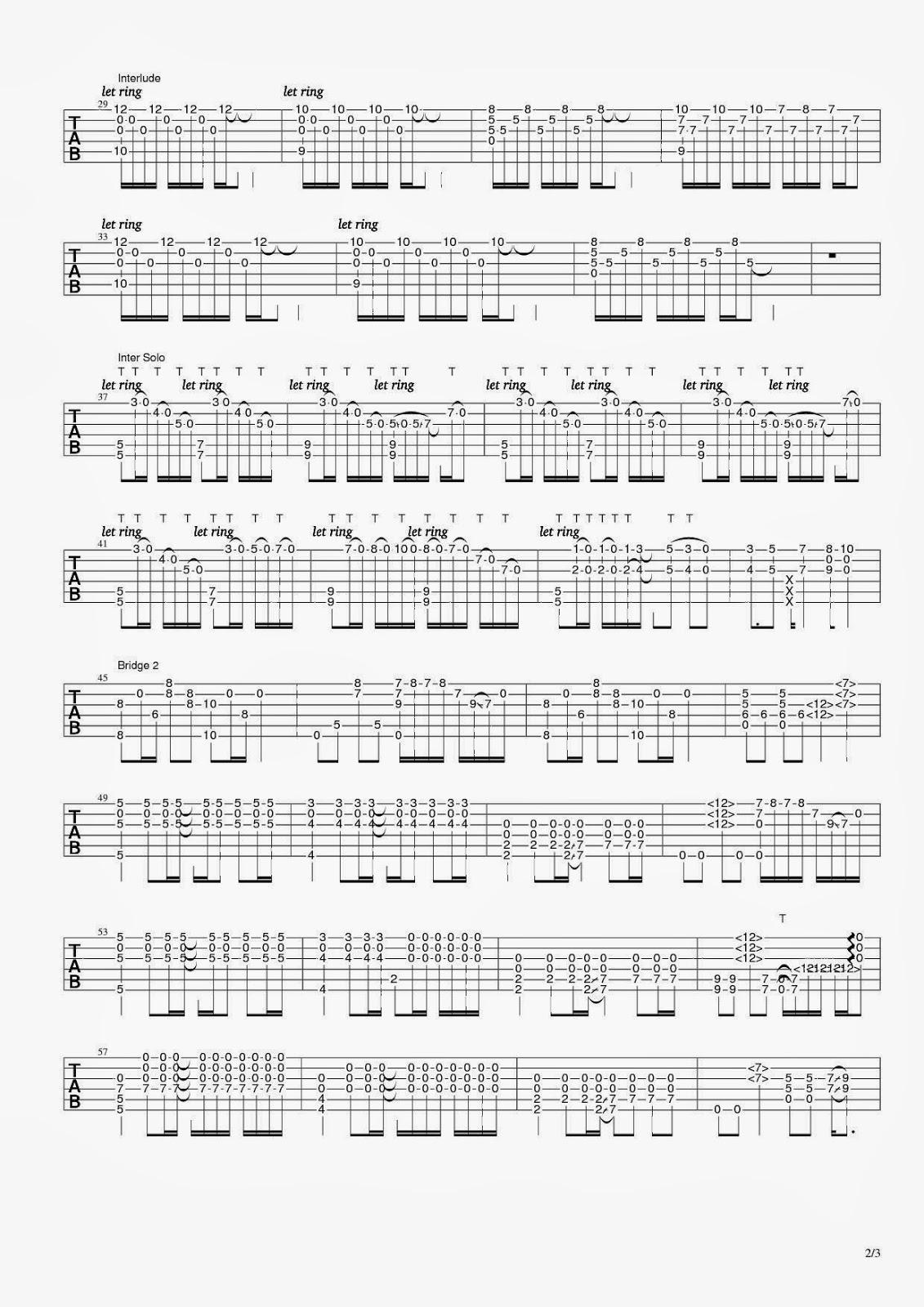 為你的寂寞唱歌-家家|吉他譜|和弦譜|指法譜 ~ 空城記事
