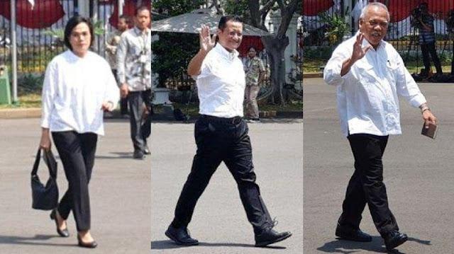 13 'Muka Lama' Kabinet Jokowi Jilid 2