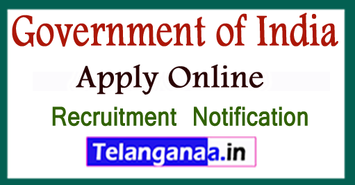 Government of India Recruitment Notification 2017 Apply