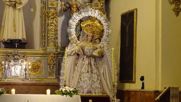 La Virgen de Granada presenta su nueva Ráfaga
