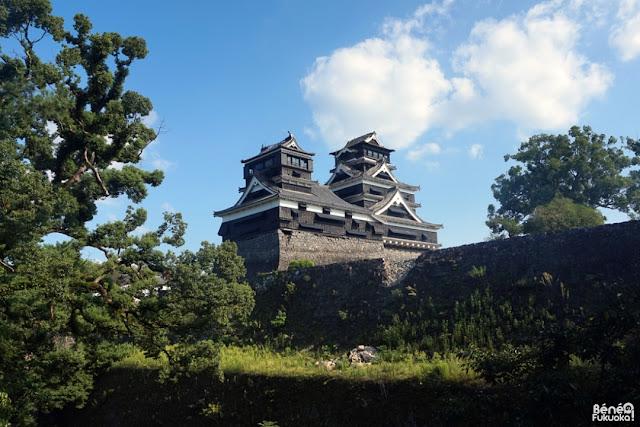地震後の熊本城に行ってみた