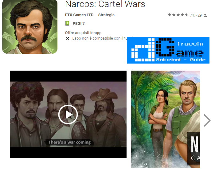 Trucchi Narcos: Cartel Wars Mod Apk Android v1.00.27