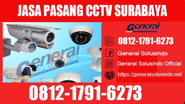 Jasa Pasang CCTV Gunung Anyar Surabaya