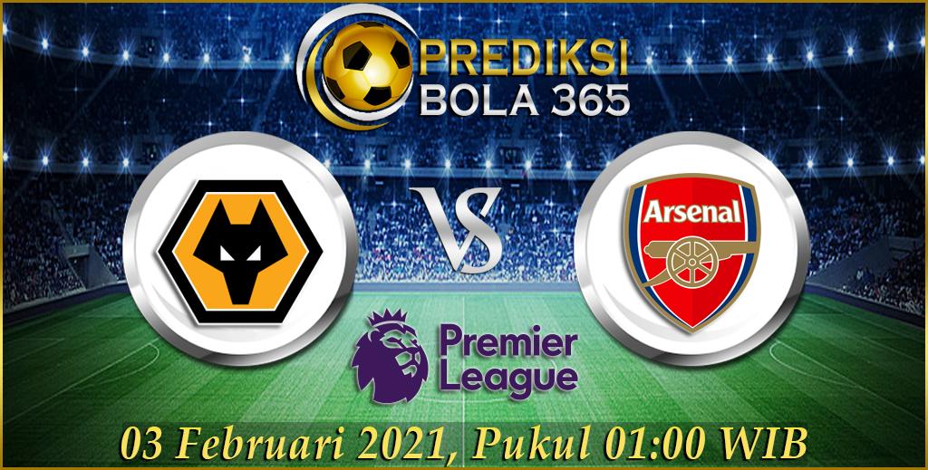 Prediksi Bola Wolverhampton Vs Arsenal 03 Februari 2021