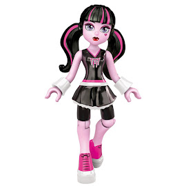 MH School Fang Out Draculaura Mega Blocks Figure