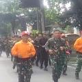 Danskadik 302 dan Pelatih Binsik Lari Bersama Para Siswa Skadik 302