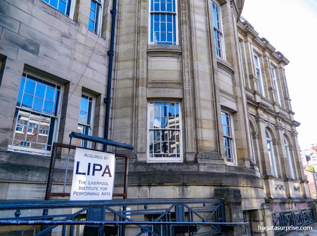 Liverpool Institute of Performing Arts - LIPA