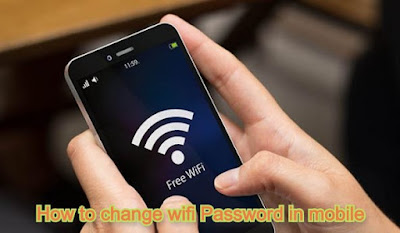 How to change wifi password in mobile -Change Wifi Password In Android & iOS