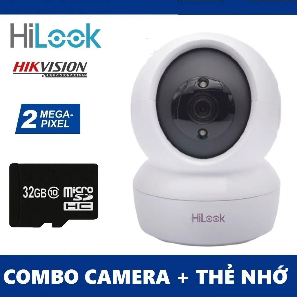 Camera Xoay Hilook 2MP, Đàm thoại 2 chiều, Kết nối không dây CHÍNH HÃNG TAI BẾN TRE
