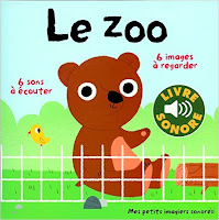 Le zoo - Mes petits imagiers sonores - Gallimard Jeunesse
