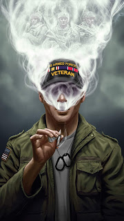 Us Armed Force Smoking Mobile HD Wallpaper