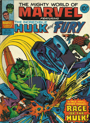 Mighty Wold of Marvel #261, the Hulk