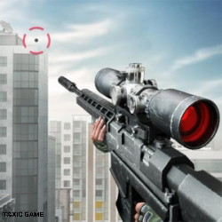 sniper 3d assassin gun shooter (mod unlimited coins/gems)