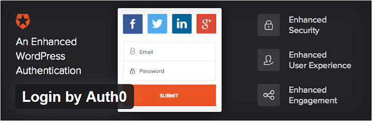 Login by Auth0 WordPress plugin