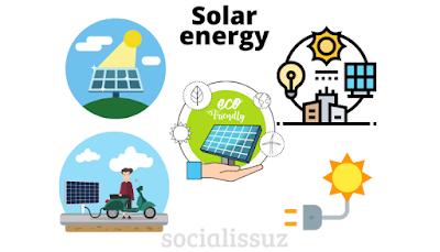 Solar energy is Eco-friendly source of renewable energy