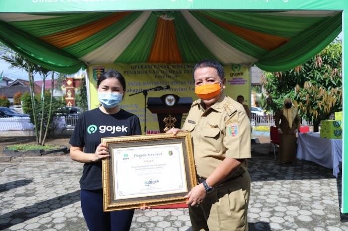 Arinal Launching Operasi Pasar Bersubsidi, Gandeng Gojek Terdampak Covid-19