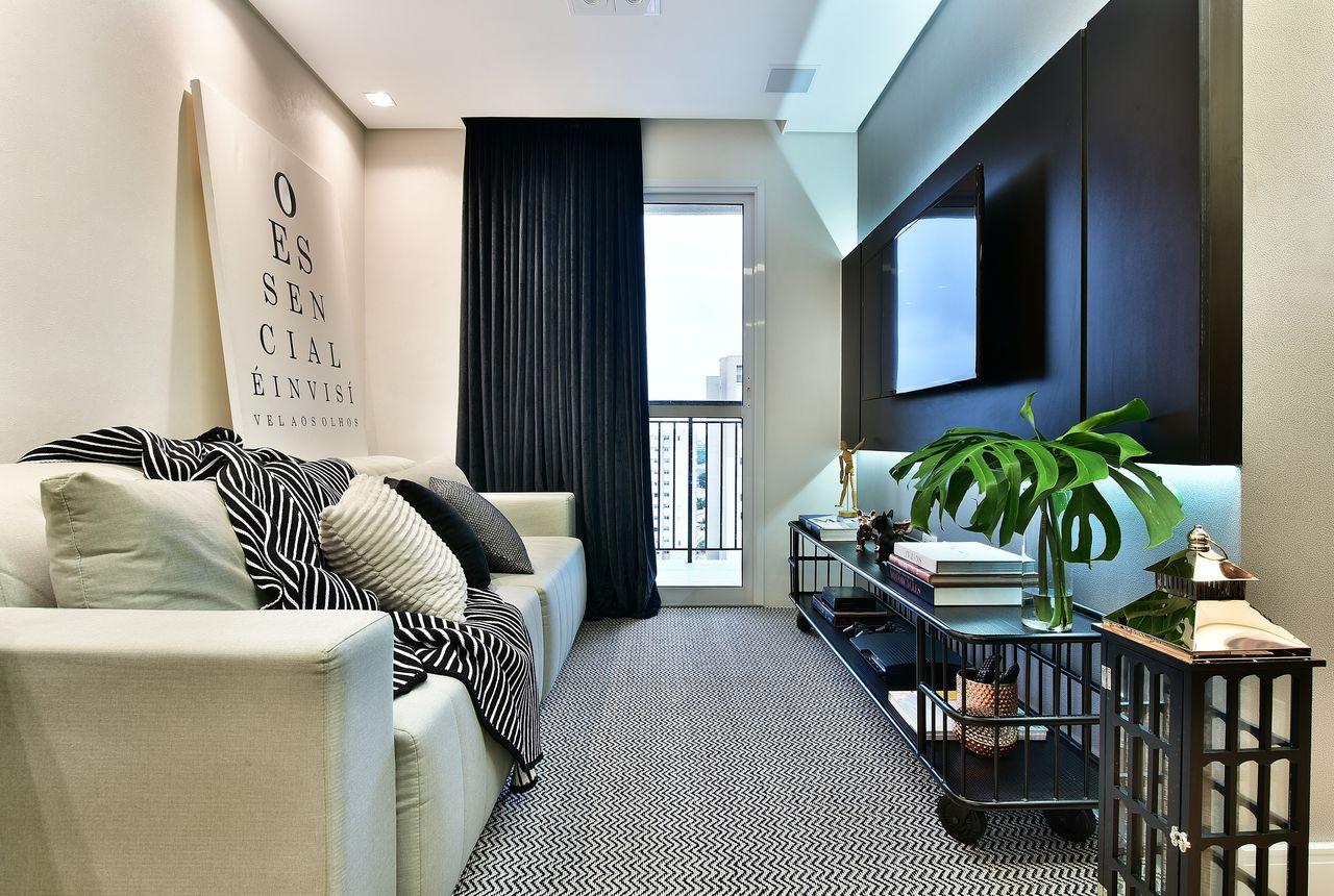 Jeito de casa blog de decora o for Pintado de salas pequenas