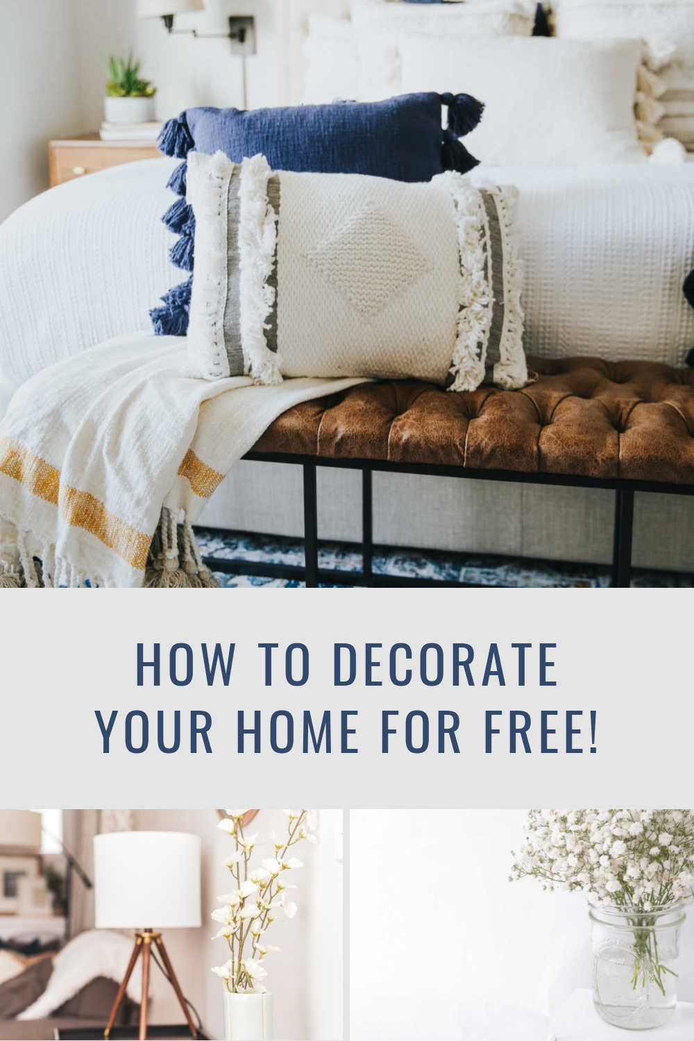 DECORATE FREE OR BUDGET
