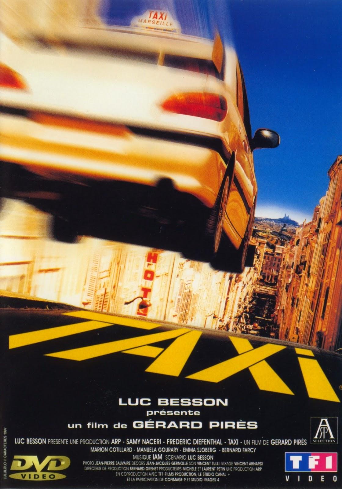 821  Takso (Taxi, France, 1998) [Taxi] | Head uued ja vanad