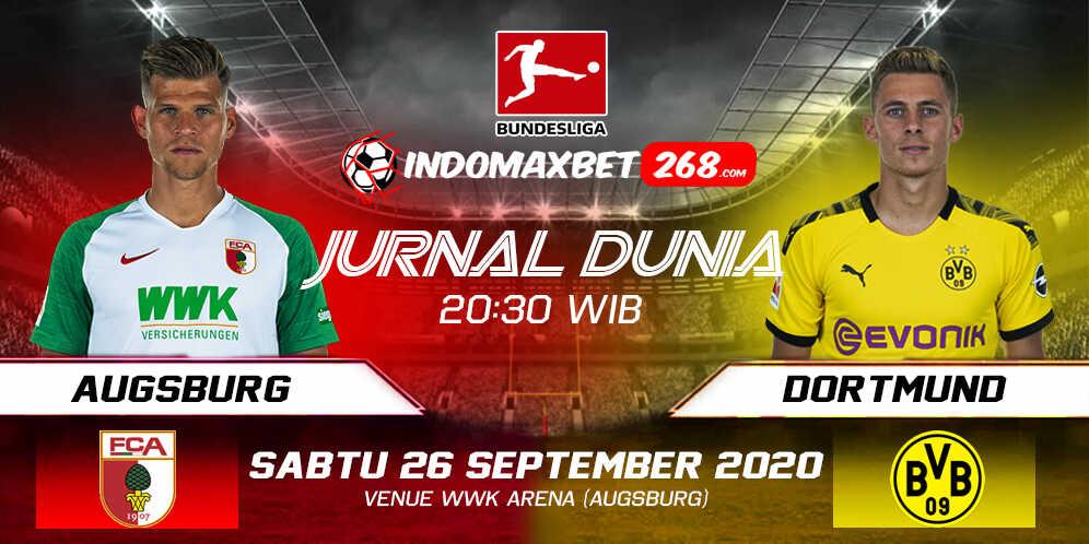 Prediksi Augsburg Vs Borussia Dortmund 26 September 2020 Pukul 20.30 WIB