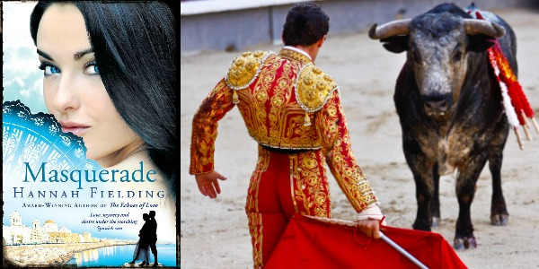 masquerade, hannah-fielding, book, spain