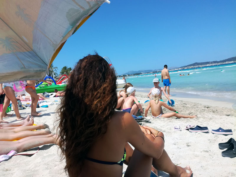Oggi, in spiaggia