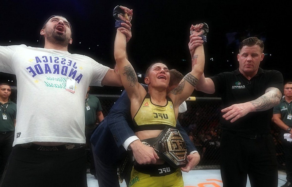 Results of UFC 237, Highlights: Jessica Andrade collaborated with TKO to claim Gulab Namjun for the title.