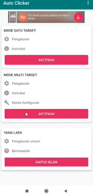 Aplikasi Auto Clicker Higgs Domino