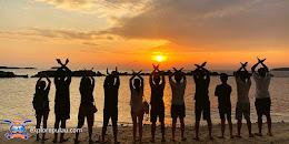 sunset-sunrise pulau pari