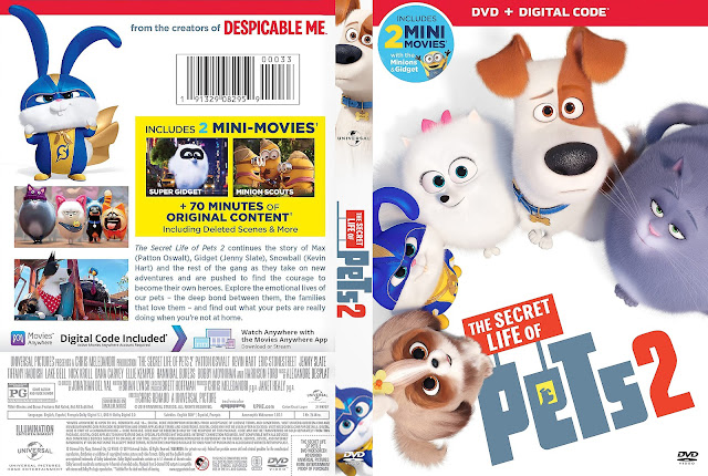The Secret Life of Pets 2 DVD Cover