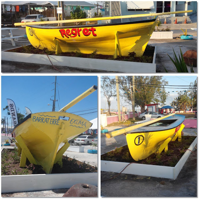 3 pictures of Bahamian wooden sloops