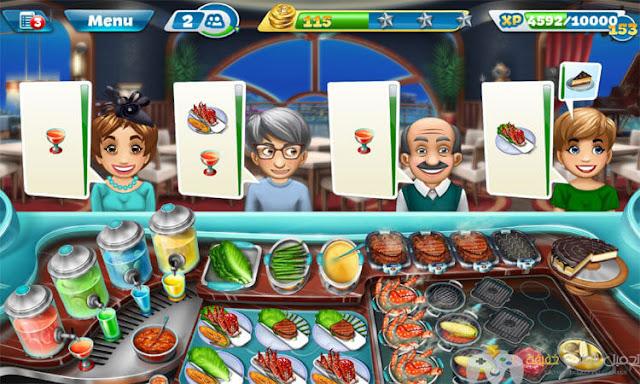 تحميل لعبة Cooking Fever للكمبيوتر والاندرويد اخر اصدار من ميديا فاير