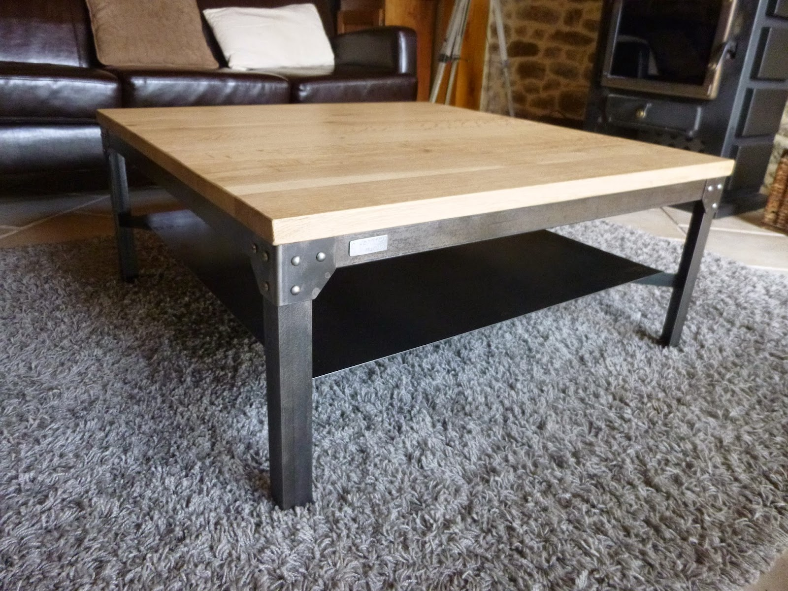 C factory creation table basse - Creation table basse ...