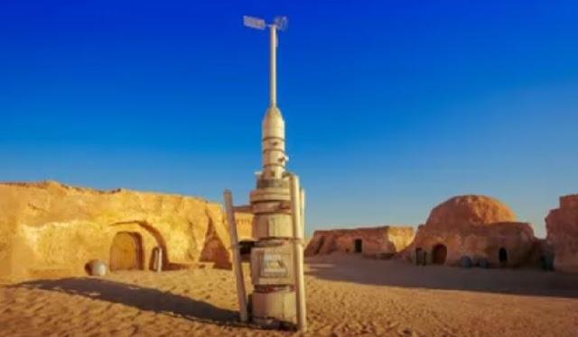 Which movie was filmed in Sahara Dessert?