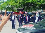 33 Sektor PSBI Dilantik, Pawai Damai Keliling Samosir