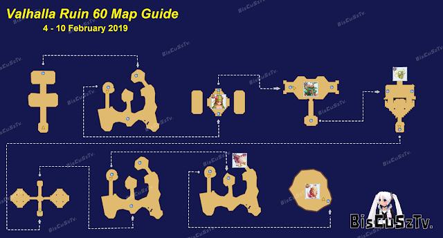 Valhalla Ruins Map 40 - 60 - 80 Guide Ragnarok Mobile Eternal Love ombopak.com
