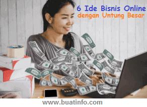 Buat Info - 6 Ide Bisnis Online