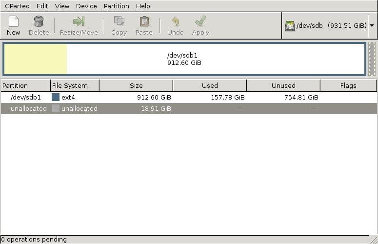 Ridzwan's Blog: How To Clone HDD or SDD Using GParted