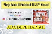 Yuk Ikuti Fotobooth di PLN UP3 Manado, Ada Hadiahnya Lho