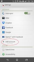Retrieve Lost Phone (Sony Xperia M2)