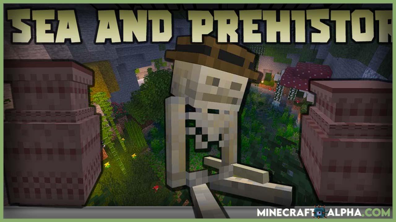 Minecraft Sea and Prehistory Mod 1.16.5 (Secret, Mini Biomes)