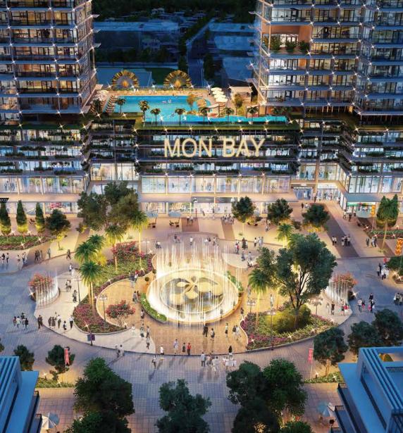 Quảng trường nhạc nước trung tâm dự án Mon Bay Hạ Long