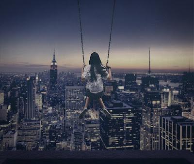 Balanço sobre New York
