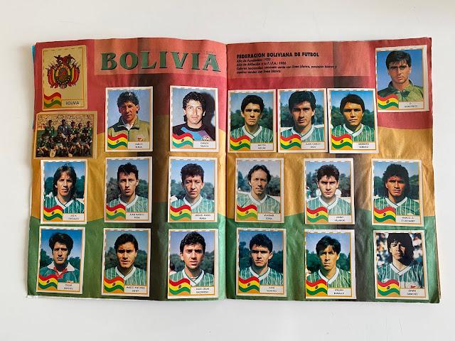 figurine Bolivia copa america '95 Navarrete