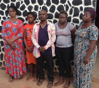 See faces Of ARRESTED Notorious Fake MIRACLE Syndicates Used By Popular Nigerian Pastors To Deceive Many
