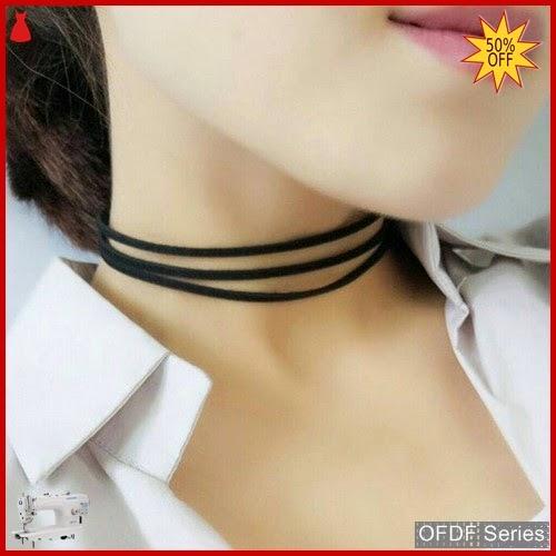 OFDF172 Aksesoris Necklace Chokker Terry Korean Modis BMGShop