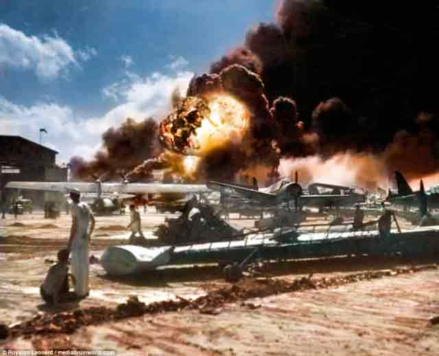 Pearl Harbor Attack worldwartwo.filminspector.com